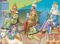 Els Reis Mags Los Reyes Magos the three wise men
